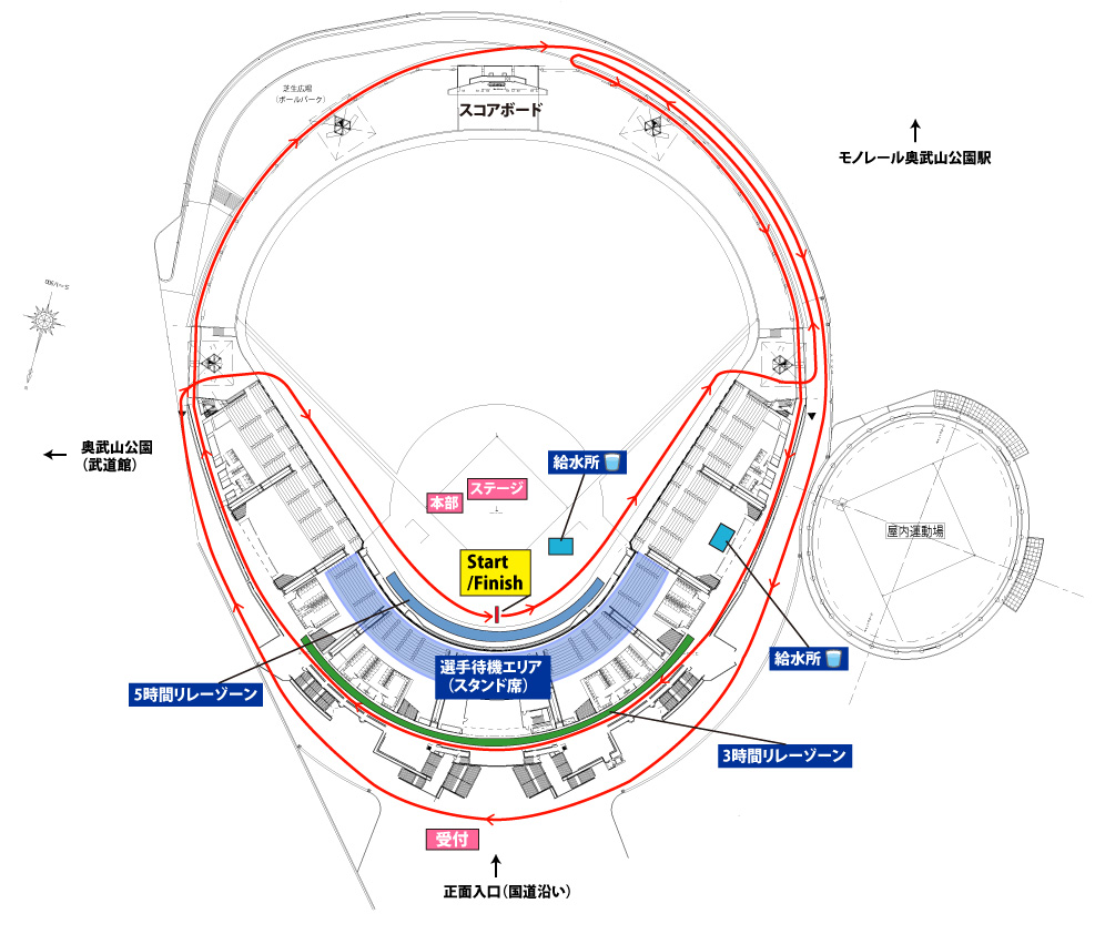 沖縄コースマップ